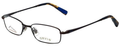 Orvis Designer Eyeglasses Bold in Brown 51mm :: Custom Left & Right Lens