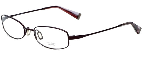 Oliver Peoples Designer Eyeglasses Doren-BOR in Bordeaux 51mm :: Custom Left & Right Lens