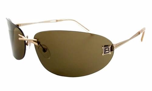Laura Biagiotti LB85322 Gold Designer Sunglasses