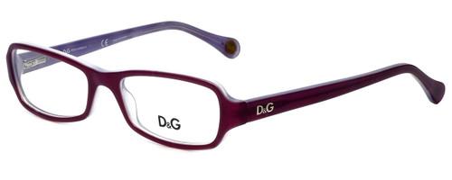 Dolce & Gabbana Designer Eyeglasses DD1201-1766 in Violet 52mm :: Custom Left & Right Lens