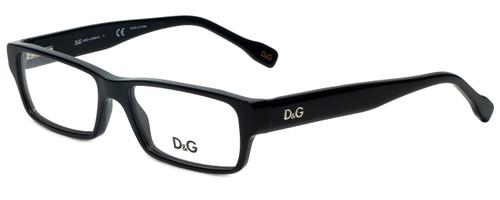 e0db824618 Dolce   Gabbana Designer Eyeglasses DD1203-501 in Black 52mm    Custom Left    Right Lens
