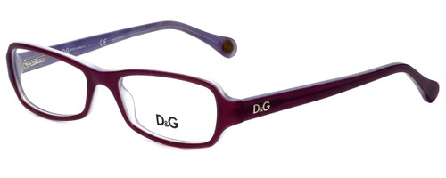 Dolce & Gabbana Designer Eyeglasses DD1201-1766 in Violet 52mm :: Rx Single Vision
