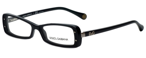 Dolce & Gabbana Designer Eyeglasses DD1227-501 in Black 51mm :: Progressive