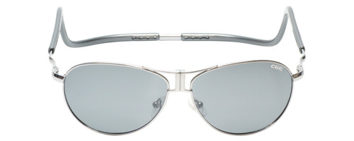 Clic Magnetic Sunglasses Aviator Style :: XXL Fit