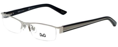 Dolce & Gabbana Designer Eyeglasses DD5069-351-52 in Silver 52mm :: Custom Left & Right Lens