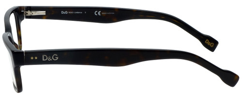 Dolce & Gabbana Designer Eyeglasses DD1165-502 in Havana 53mm :: Rx Single Vision