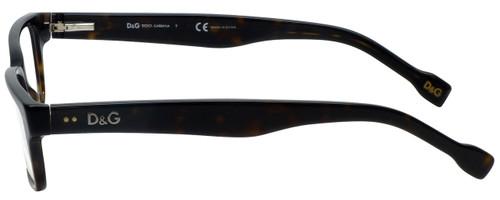 Dolce & Gabbana Designer Eyeglasses DD1165-502 in Havana 53mm :: Progressive