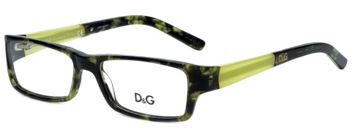 9059a6625f98 Dolce & Gabbana Designer Reading Glasses DD1181-977 in Green Tortoise 51mm.  Quick view