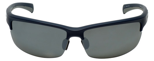 Timberland TB9103-91D Designer Polarized Sunglasses in Matte Blue with Grey Flash Lens