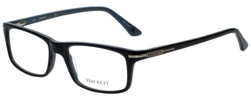 Hackett London Designer Reading Glasses HEK1130-102 in Black 58mm