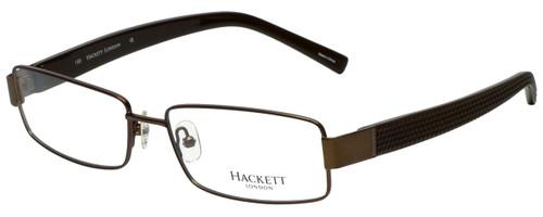 Hackett Designer Eyeglasses HEK1059-10 in Brown 58mm :: Custom Left & Right Lens