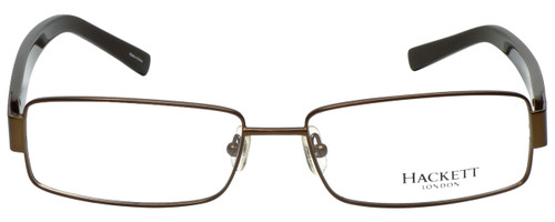 Hackett Designer Eyeglasses HEK1059-10 in Brown 58mm :: Custom Left & Right Lens