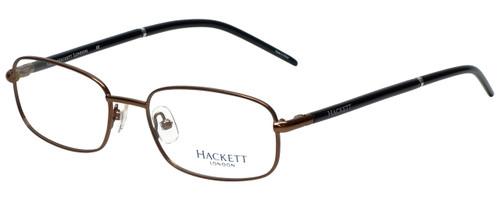 Hackett Designer Eyeglasses HEK1060-10 in Brown 52mm :: Custom Left & Right Lens