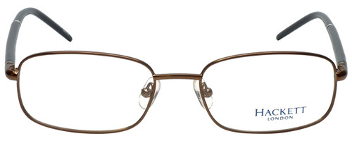Hackett Designer Eyeglasses HEK1060-10 in Brown 52mm :: Custom Left & Right Lens