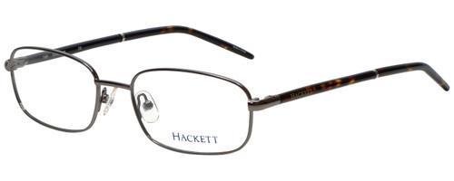 Hackett Designer Eyeglasses HEK1060-90 in Gunmetal 52mm :: Custom Left & Right Lens