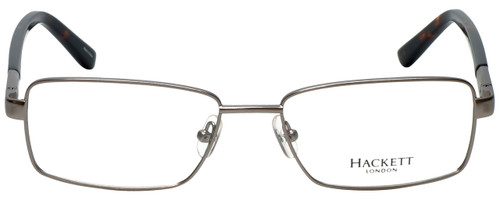 Hackett Designer Eyeglasses HEK1090-90 in Matte Gunmetal 55mm :: Custom Left & Right Lens