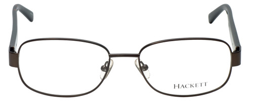Hackett Designer Eyeglasses HEK1102-90 in Gunmetal 54mm :: Custom Left & Right Lens