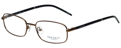 Hackett Designer Eyeglasses HEK1060-10 in Brown 52mm :: Rx Single Vision