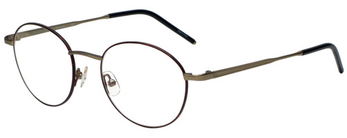 Hackett Designer Eyeglasses HEB097-41 in Burgundy 50mm :: Rx Bi-Focal
