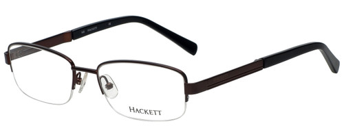 Hackett Designer Reading Glasses HEK1104-165 in Matte Brown 54mm