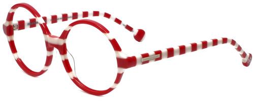 Jonathan Adler Designer Eyeglasses Cote D'azur in Red 54mm :: Rx Single Vision