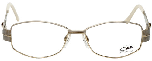 Cazal Designer Reading Glasses Cazal-1089-003 in White Gold 52mm