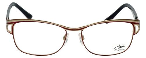 Cazal Designer Reading Glasses Cazal-1095-002 in Red Gold 55mm