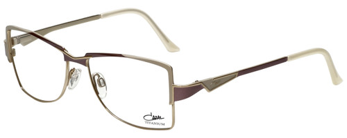 Cazal Designer Reading Glasses Cazal-1201-003 in Purple White 54mm