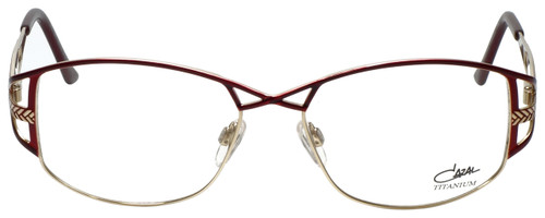 87390b25cbb Cazal Designer Eyeglasses Cazal-1202-002 in Red Gold 54mm    Rx Bi ...