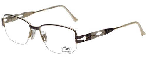 Cazal Designer Reading Glasses Cazal-1203-001 in White 52mm