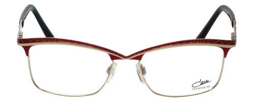 Cazal Designer Eyeglasses Cazal-4239-003 in Red 53mm :: Custom Left & Right Lens
