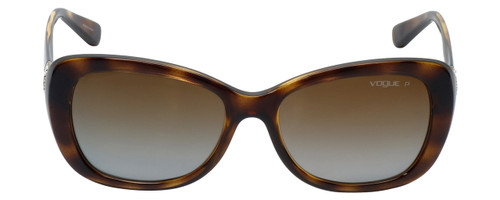 Vogue Designer Polarized Sunglasses VO2943-W656 in Havana with Brown Gradient Lens