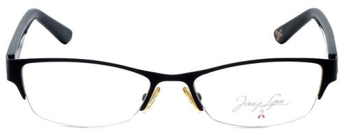 Jenny Lynn Designer Eyeglasses Joyful-BLK in Black 52mm :: Custom Left & Right Lens