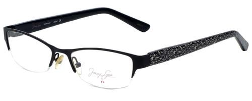 Jenny Lynn Designer Eyeglasses Joyful-BLK in Black 52mm :: Rx Single Vision