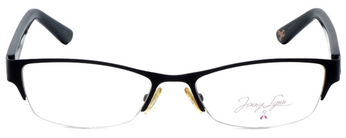 Jenny Lynn Designer Eyeglasses Joyful-BLK in Black 52mm :: Rx Single Vision