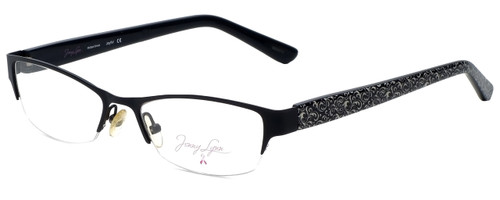 Jenny Lynn Designer Reading Glasses Joyful-BLK in Black 52mm