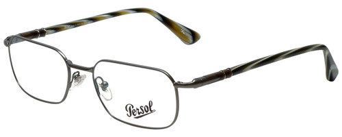 Persol Designer Eyeglasses PO2431V-997-51 in Gunmetal 51mm :: Rx Single Vision