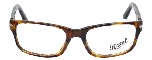Persol Designer Eyeglasses PO2986V-108 in Tortoise 52mm :: Custom Left & Right Lens