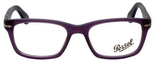 Persol Designer Eyeglasses PO3012V-990 in Matte Violet 52mm :: Custom Left & Right Lens