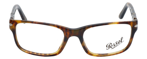 Persol Designer Eyeglasses PO2986V-108 in Tortoise 52mm :: Rx Single Vision