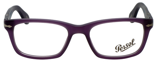 Persol Designer Eyeglasses PO3012V-990 in Matte Violet 52mm :: Rx Single Vision