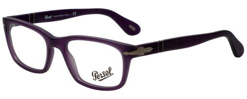 Persol Designer Eyeglasses PO3012V-990 in Matte Violet 52mm :: Progressive