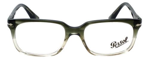 Persol Designer Eyeglasses PO3131V-1038 in Striped Green Gradient 54mm :: Custom Left & Right Lens