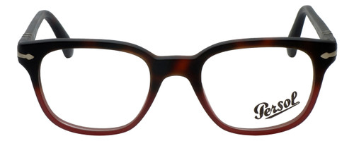 Persol Designer Eyeglasses PO3093V-9025-48 in Tortoise Red Gradient 48mm :: Rx Single Vision