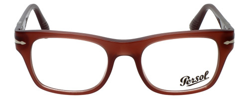 Persol Designer Eyeglasses Film Noir Edition PO3070V-1002 in Dark Red Opalin 52mm :: Progressive