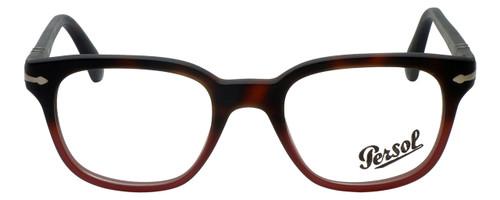 Persol Designer Eyeglasses PO3093V-9025-48 in Tortoise Red Gradient 48mm :: Rx Bi-Focal