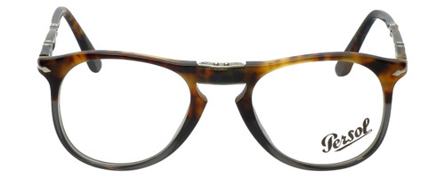 Persol Designer Reading Glasses Fuoco e Ardesia PO9714VM-1023 in Tortoise Grey Gradient 50mm