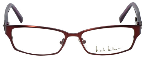 Nicole Miller Designer Eyeglasses Bowery-02 in Rose 53mm :: Rx Bi-Focal