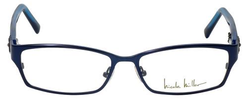 Nicole Miller Designer Eyeglasses Bowery-03 in Indigo Black 53mm :: Rx Bi-Focal