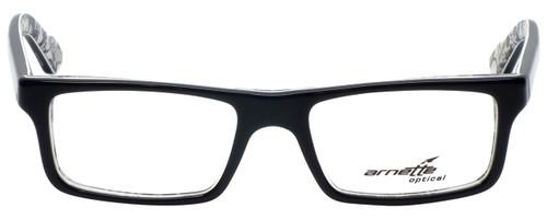 Arnette Designer Eyeglasses Lo-Fi 7060-1119 in Black on Graphics 47mm :: Custom Left & Right Lens